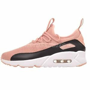 e126185147 Nike Air Max 90 EZ GS Running Kids Youth Womens Shoes Stardust Pink ...