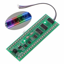 Rgb Mcu Display Pattern Dual Channel 24 Led Vu Level Indicator Meter F Amplifier