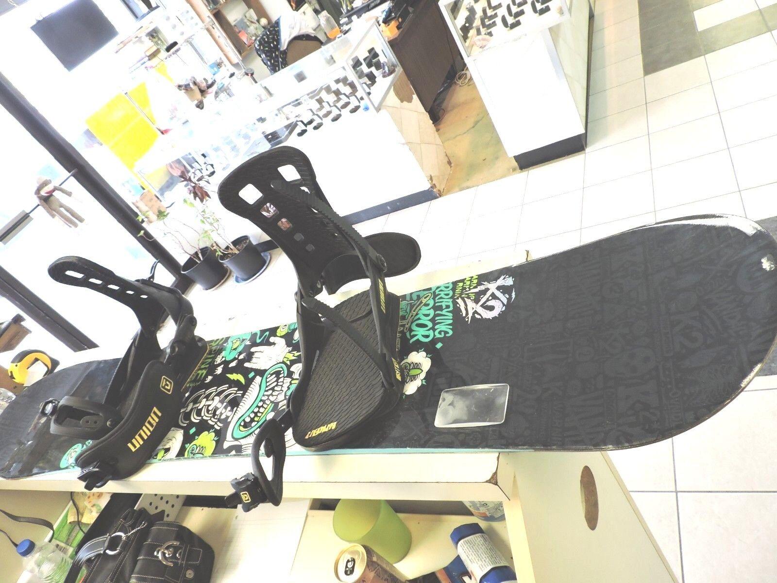 K2 Vandal Snowboard W  Union ST Bindings Camo Blk Great Buy
