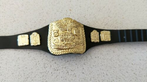 New Without Tags or Box WWE Wrestling Smack Down Tag Belt for Figurine