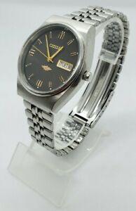 Vintage-Citizen-Mechanical-Hand-Winding-Movement-Date-Dial-Mens-Wrist-Watch