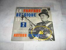 LA FANFARE BELGIQUE 1900 33 TOURS 25CMS EXPOSITION 1958