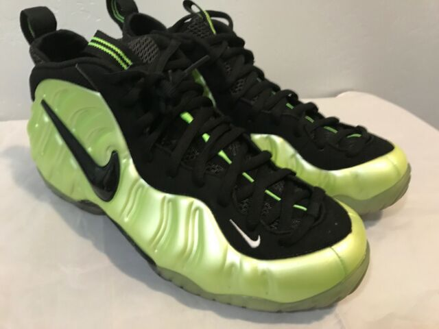 size 40 91b4e 7e364 Clean Nike Air Foamposite Pro Electric Green 624041-300 Size 11 Electrolime  Yell