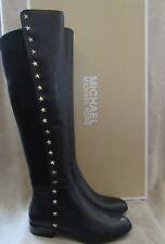 50e5b892d44 item 5 MICHAEL KORS Bromley Flat Star Studs Leather Riding Boots Shoes US  7.5 EU 38 NWB -MICHAEL KORS Bromley Flat Star Studs Leather Riding Boots  Shoes US ...