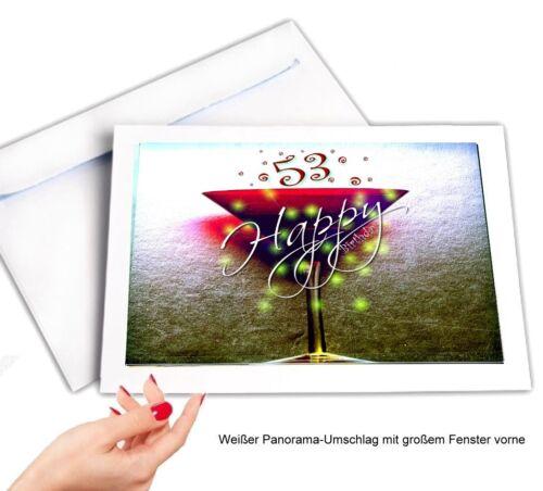 Geburtstag Glückwunschkarte Geburtstagskarten #062 DigitalOase 53