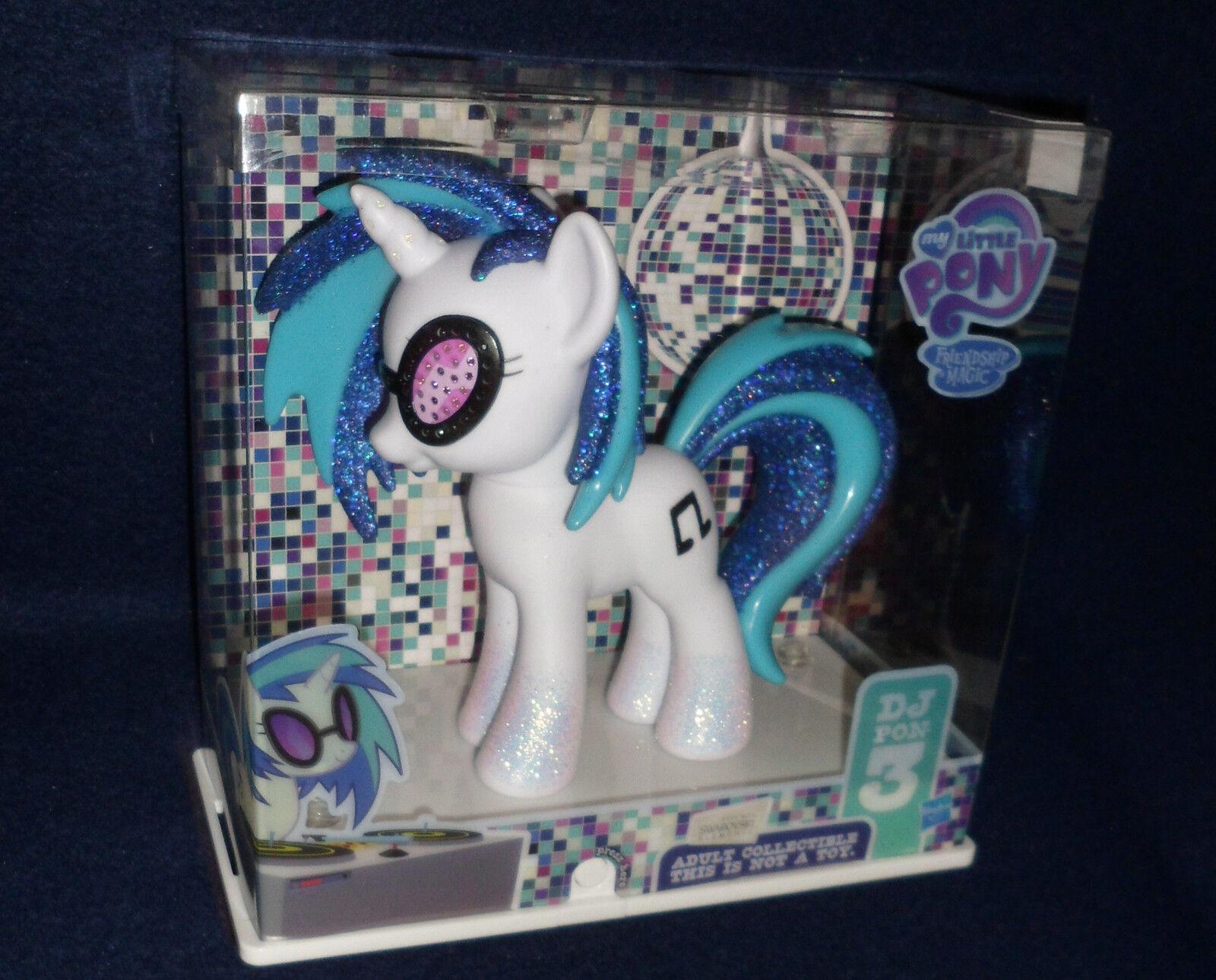 SDCC 2013 Exclusive My Little Pony: Frienship is Magic DJ PON-3 Figure Hasbro