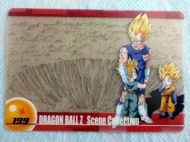 Dragon Ball Morinaga Wafer Card 114