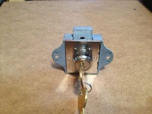 1 Indiana Cash Drawer Lock Deadbolt Type Locks Keys Key Ebay