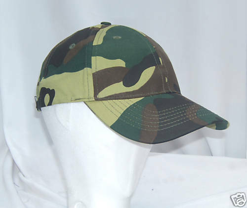 NEW! MILITARY COOL CAMO/CAMOUFLAGE ARMY BASEBALL CAP
