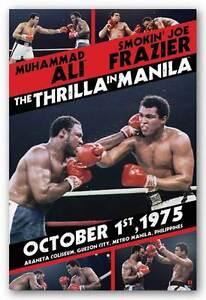 BOXING-POSTER-Muhammad-Ali-vs-Smokin-039-Joe-Frazier