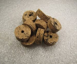 "Cork Ring, Wave 1 Burl Cork 1/2"" X 1.25 X 1/4 (4) Pcs-afficher Le Titre D'origine"