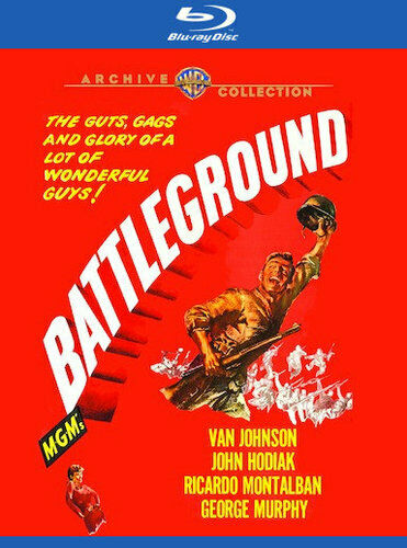 Battleground (1949 Van Johnson) BLU-RAY NEW