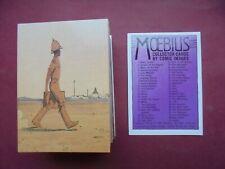 MOEBIUS SERIE COMPLETE 90 TRADING CARDS AMERICAINES 1993 MAJOR FATAL ETAT NEUF