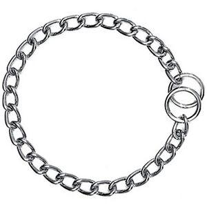 Halskette-Wuerger-Platte-Chrom-65-cm-3-5mm