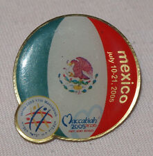 Pin Makkabiade 17th Maccabiah Games in Israel 2005 Team Mexico