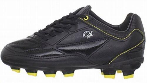 1958 FG Jr MS Pele Sports Black Yellow Fussball Schuhe 34,5 35 36 37 38 39 WM EM