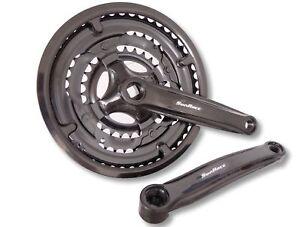 Fahrrad-Kurbelgarnitur-Sunrace-48-38-28-Kettenrad-7-8-Gang-Shimano-kompatibel