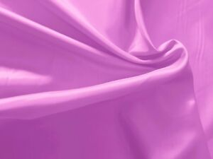 5 Yds-Awesome PINKY ORCHID CHARMEUSE SATIN Mid SHEEN Light Feather Weight Fabric