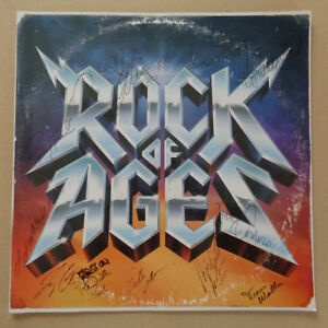 AUTOGRAPHED - 'Rock Of Ages' - Musical Stage Tour Program (2010) + COA