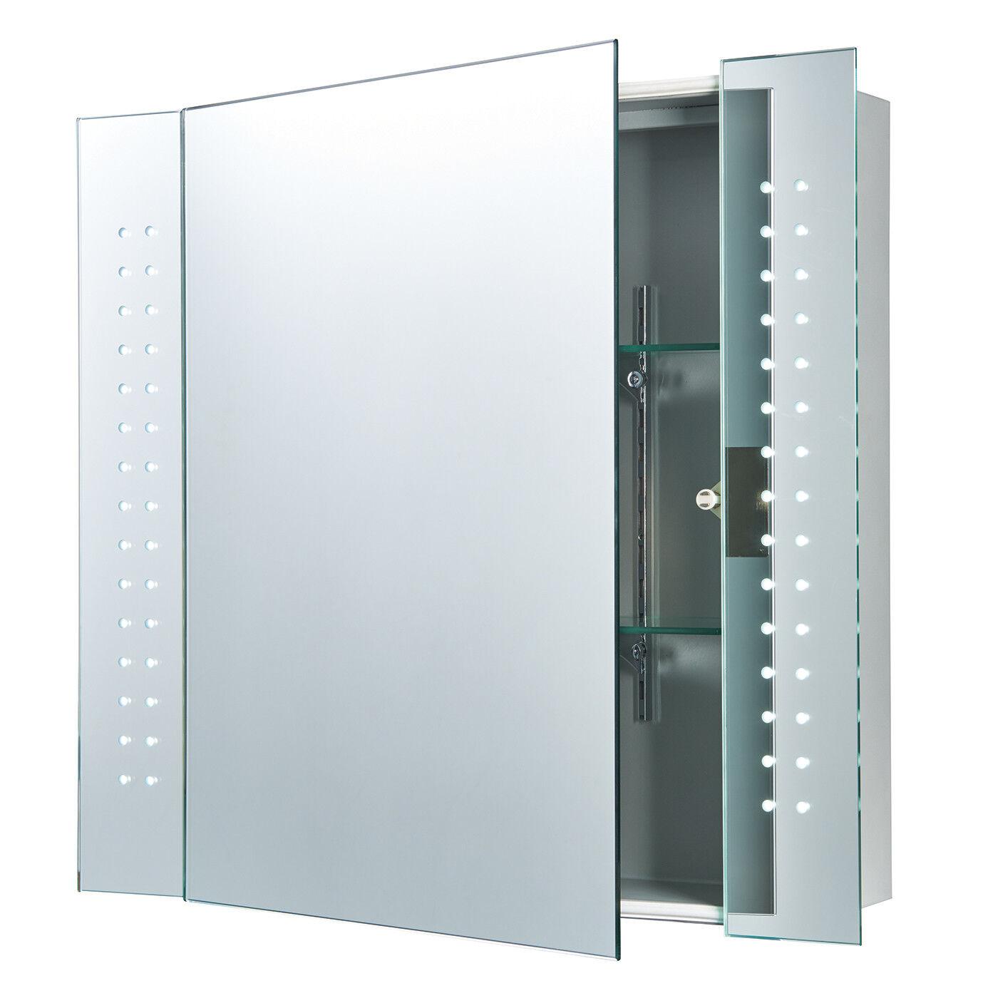 Endon REVELO REVELO REVELO DEL rasoir miroir de salle de bain Cabinet IP44 Capteur 5 W H: 600 mm W: 650 mm   Durable Dans L'utilisation  cbee62