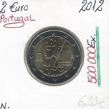 2 Euros - PORTUGAL - 2012 // Qualité: Neuve (500 000 Ex)