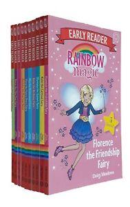Rainbow-Magic-Fairies-Early-Reader-Story-10-Books-Daisy-Meadows-Learning-New