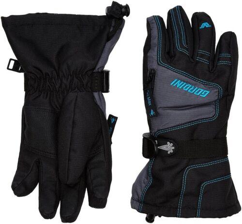 GORDINI Junior Ultra Dri-Max Gauntlet IV Gloves BLACK//GRAY//TEAL Glove 2G3033 NEW