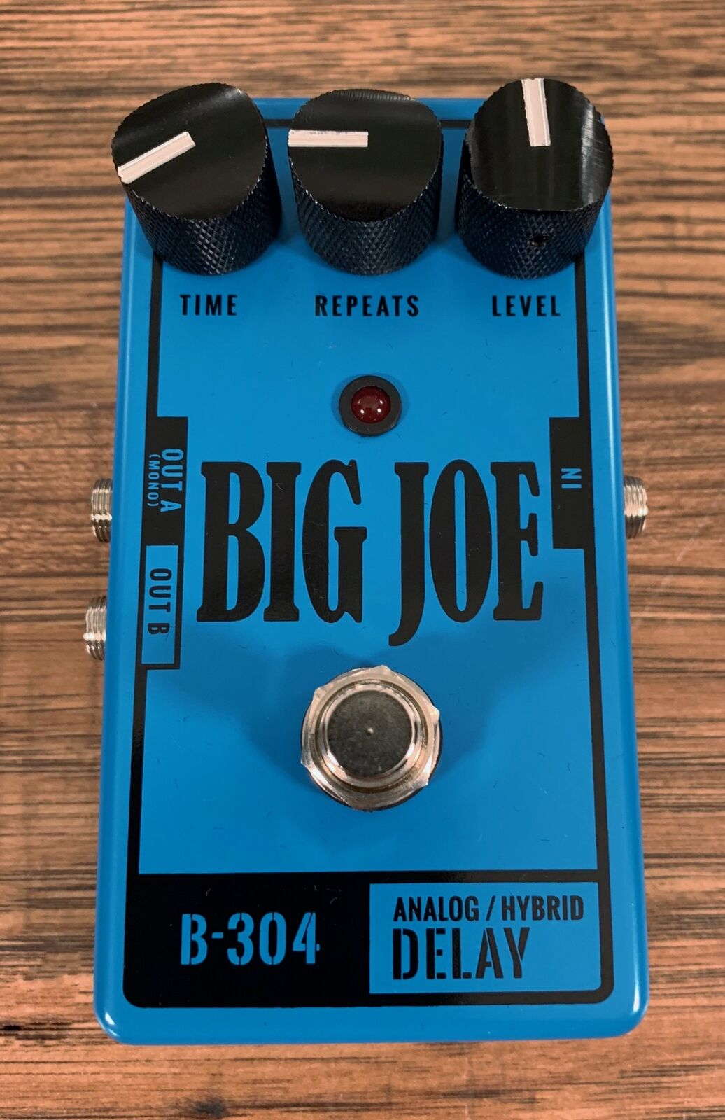 New Big Joe Stomp Box B-304 Analog Delay Pedal