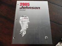 2005 Johnson Outboard 4 Stroke Service Manual 200,225,250 H.p. P 5006000