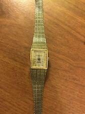 Longines Gold Tone Quartz Ladies Swiss Watch MA-9300-l960