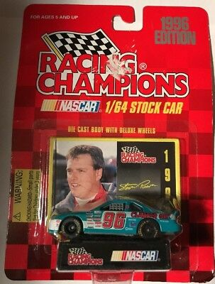 New 1996 Racing Champions 1:64 NASCAR Stevie Reeves Clabber Girl Thunderbird #96