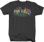 Orlando-Florida-Palm-Tree-Dolphin-Castle-Flowers-Sunshine-Beach-T-shirt-for-men thumbnail 1
