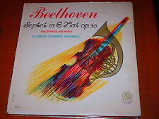 Beethoven-septet For Strings & Winds,e Flat-lp-classic