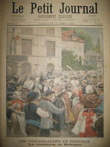 BRETAGNE-FINISTERE-CONGREGATIONS-RESISTANCE-DUEL-A-LA-FAUX-LE-PETIT-JOURNAL-1902
