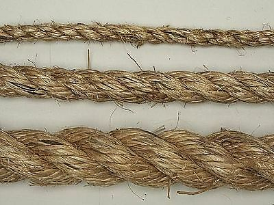 NEW Manila natural rope,6mm,8mm,10mm,12mm,Strong,U choose size,cat post.etc.50cm