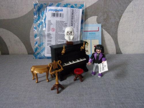 PLAYMOBIL complementi /& accessori 6527 pianista con pianoforte-NUOVO