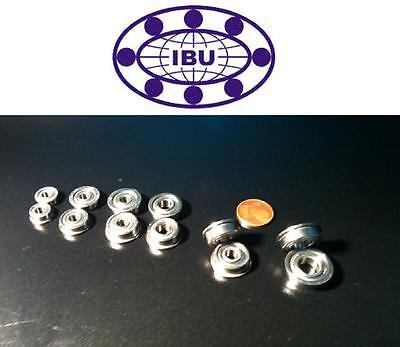 Miniatur-Flanschlager / Bundlager MF84 ZZ bis MF148 ZZ Fabrikat: IBU