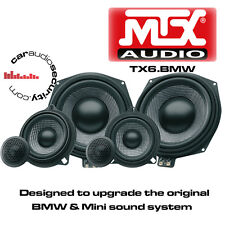 "MTX TX6.BMW 1 3 X1 X3 X5 Series 8"" Underseat Subwoofers & Front Door Speaker Kit"