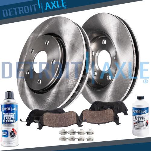 Front Brake Rotors /& Ceramic Pads for 2011 2012 2013 2014 Hyundai Sonata