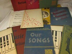 Vintage-Ephemera-Lot-Sheet-Music-Musical-Book-Covers-33170