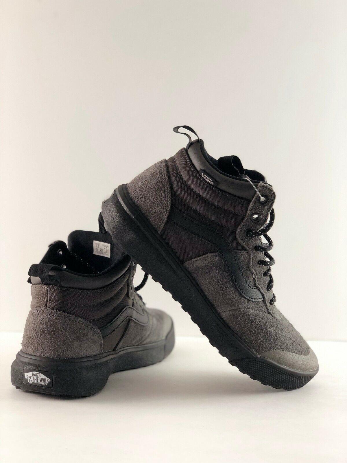 Turba Vans UltraRange Hi Zapatos Negros