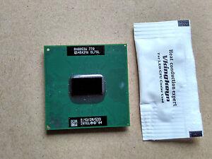 Intel Pentium M 770 SL7SL 2.13GHz 2M 533MHZ FSB SOCKET 479 Mobile CPU Processor
