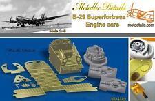 Metallic Details MD4805 -1/48 - Detailing set B-29 Superfortress Engine cars