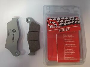PATTINI FRENO ANTERIORI SINTERIZZATE BREMBO 07BB04SX KTM EXC-SIX DAYS 500 2014