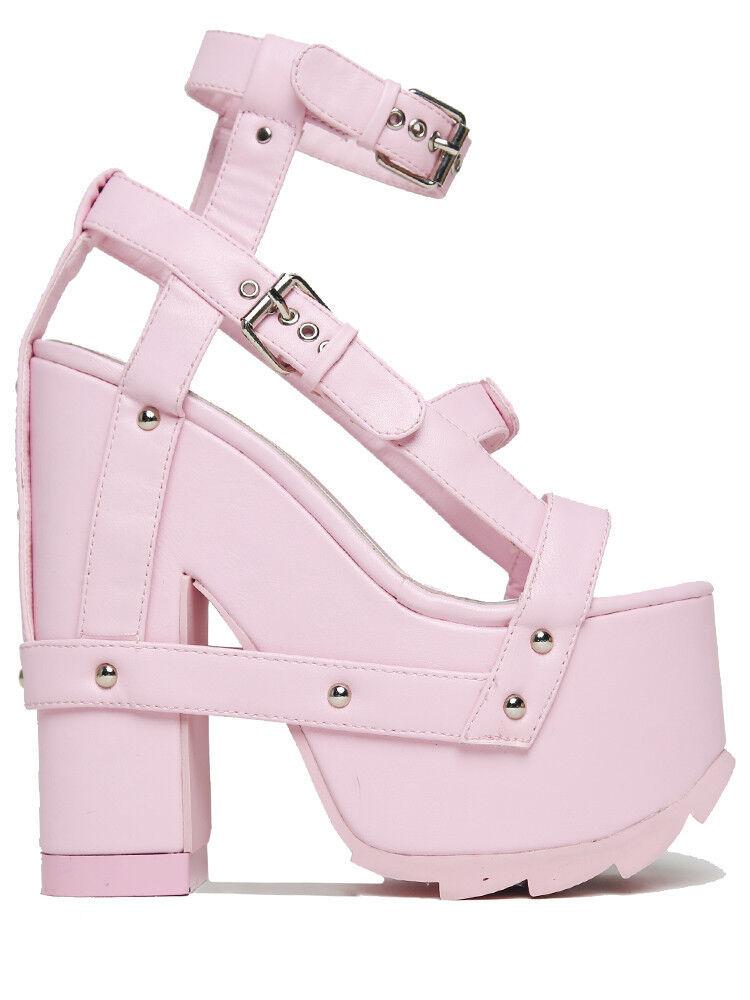Yru Jugend Rise Up Nightcall Pink Damen Schuhe Plateau-Schuhe Hohem mit Hohem Plateau-Schuhe Absatz 682ba8