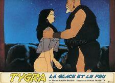 RALPH BAKSHI FRANK FRAZETTA TYGRA FIRE AND ICE 1983 VINTAGE LOBBY CARD #5