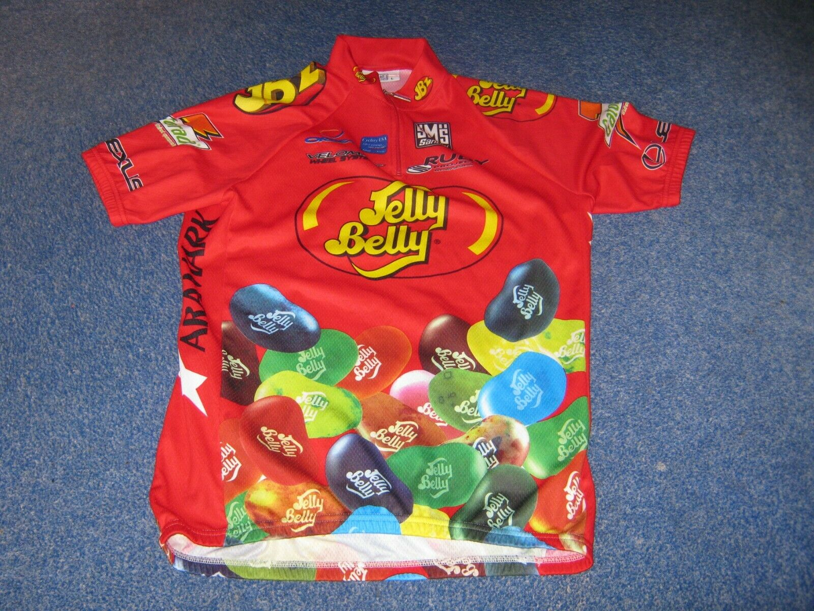 Jelly Belly Santini Italian cycling jersey [48 L]