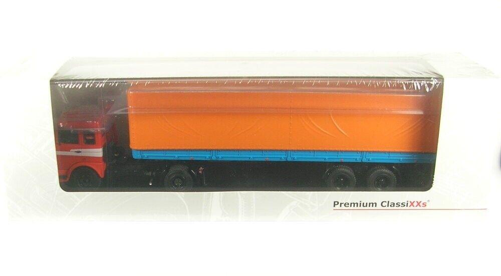 Maz 5432 con Semirremolque Maz 93971 (Sattlerzug) rosso blu arancia