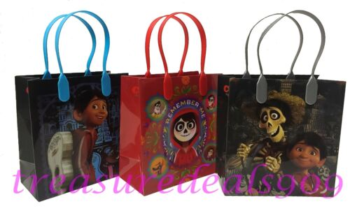 DISNEY PIXAR COCO 30 PCS GOODIE GIFT BAGS PARTY FAVOR TREAT BIRTHDAY CANDY BAG