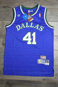 888a3fed232 Image is loading Dirk-Nowitzki-Dallas-Mavericks-Jersey-Throwback-Vintage- Classic-